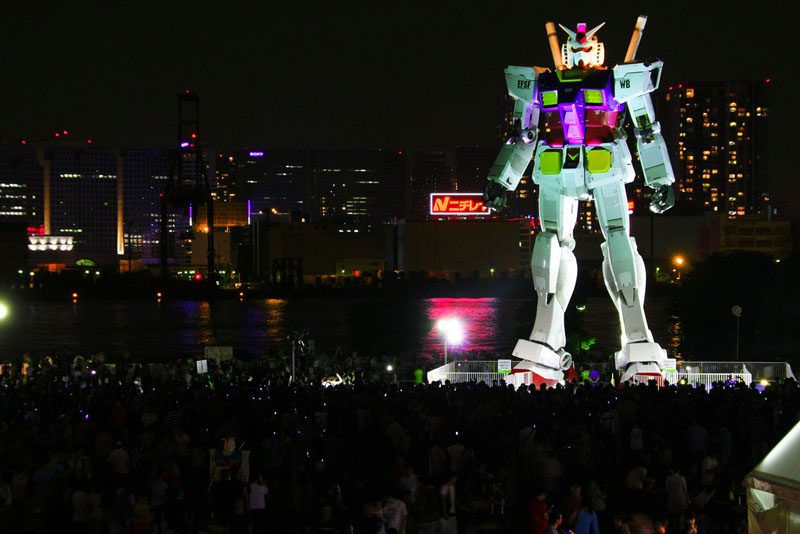 full size gundam model statue japan 18 meter 30th anniversary 17 A Full Scale Gundam Model in Japan