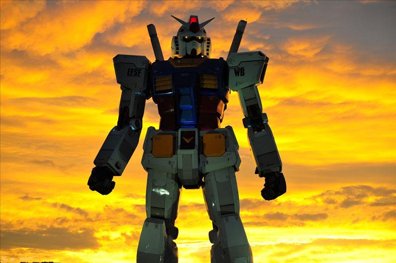 full size gundam model statue japan 18 meter 30th anniversary 2 A Full Scale Gundam Model in Japan
