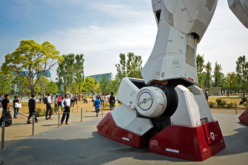 full size gundam model statue japan 18 meter 30th anniversary 3 A Full Scale Gundam Model in Japan