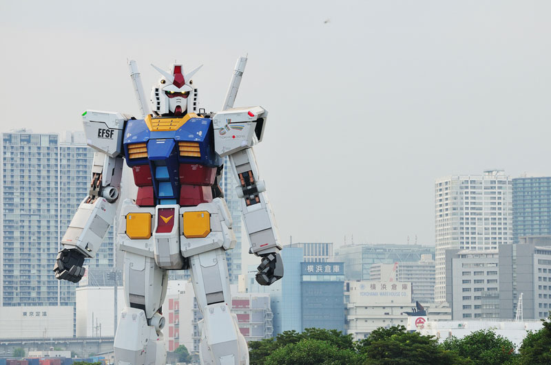 full size gundam model statue japan 18 meter 30th anniversary 4 Worlds Largest LEGO Model is a 5.3m Piece X Wing