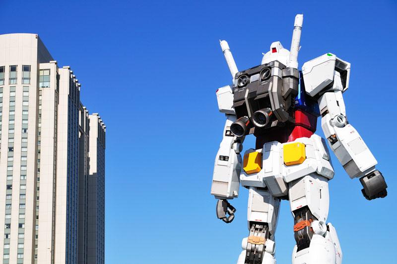 full size gundam model statue japan 18 meter 30th anniversary 5 A Full Scale Gundam Model in Japan