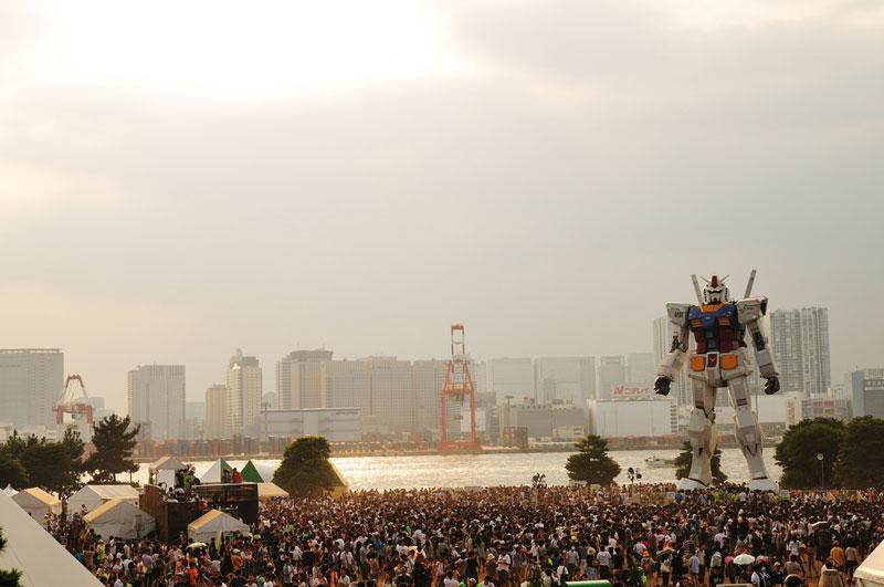 full size gundam model statue japan 18 meter 30th anniversary 6 A Full Scale Gundam Model in Japan