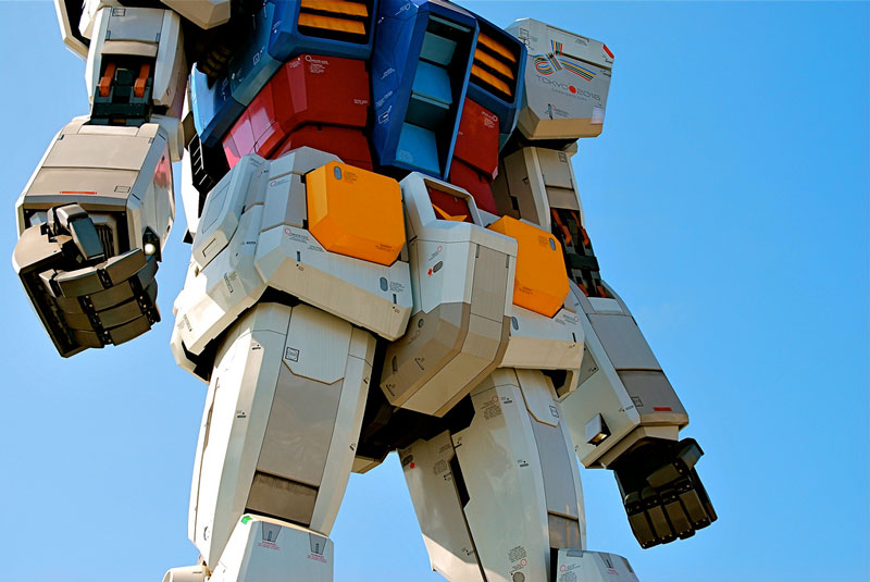 full size gundam model statue japan 18 meter 30th anniversary 9 A Full Scale Gundam Model in Japan