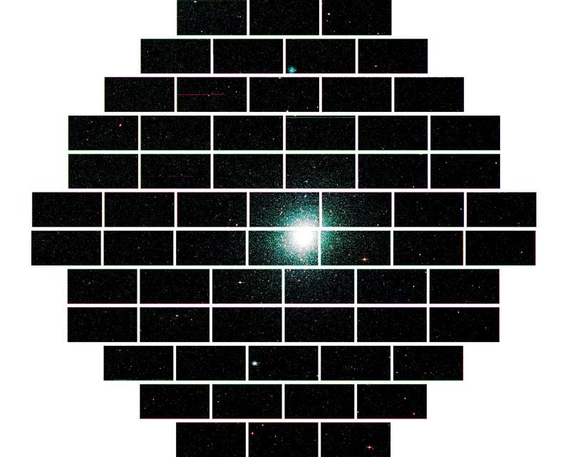globular star cluster 47 tucanae The Most Powerful Digital Camera in the World