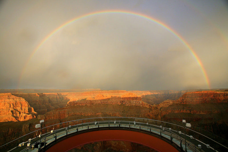 grand canyon skywalk Picture of the Day: The Grand Canyon Skywalk