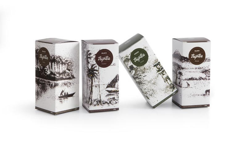 landscapes made from dried tea leaves show teas origin andrew gorkovenko 4 Beautiful Landscapes Made from Dried Tea Leaves