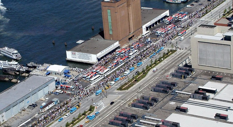 largest sea evacuation in history 9 11 2 The Largest Sea Evacuation in History