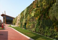 The Largest Vertical Garden in the World