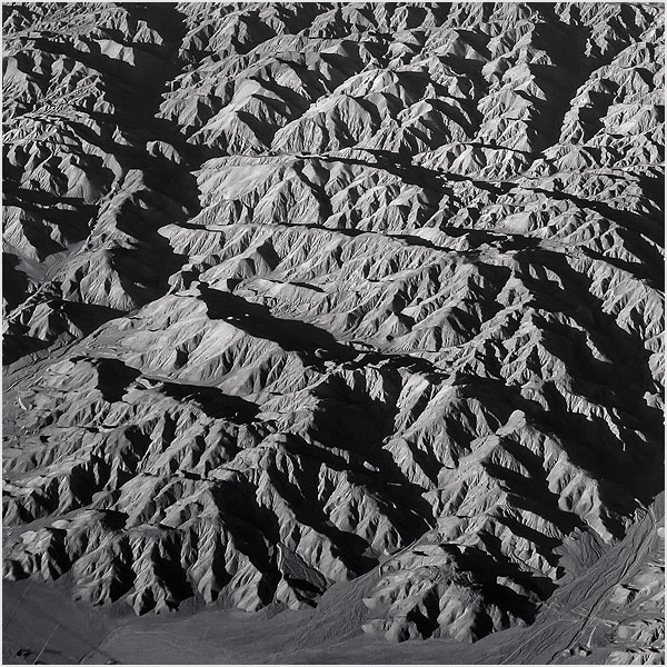 little san bernadino mountains california North America from 30 000 ft Above