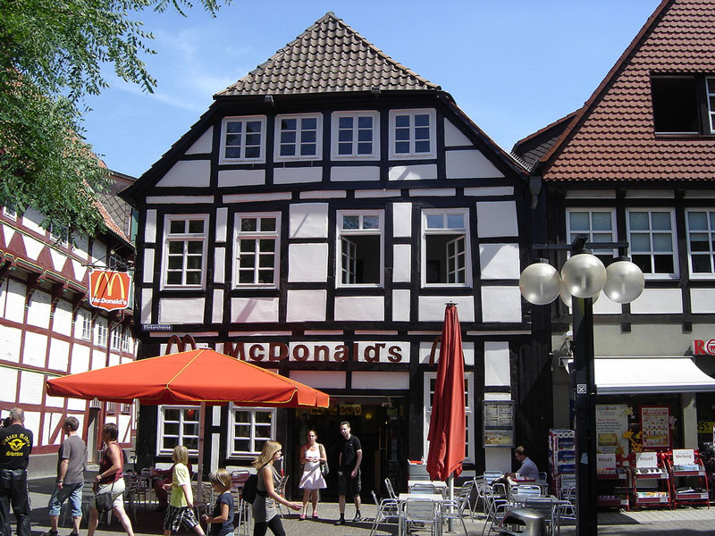 mcdonalds in hameln lower saxony germany The Most Unusual McDonalds Locations in the World