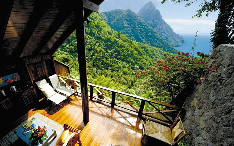open wall resort st lucia ladera 20 House in London With a Retractable Glass Roof