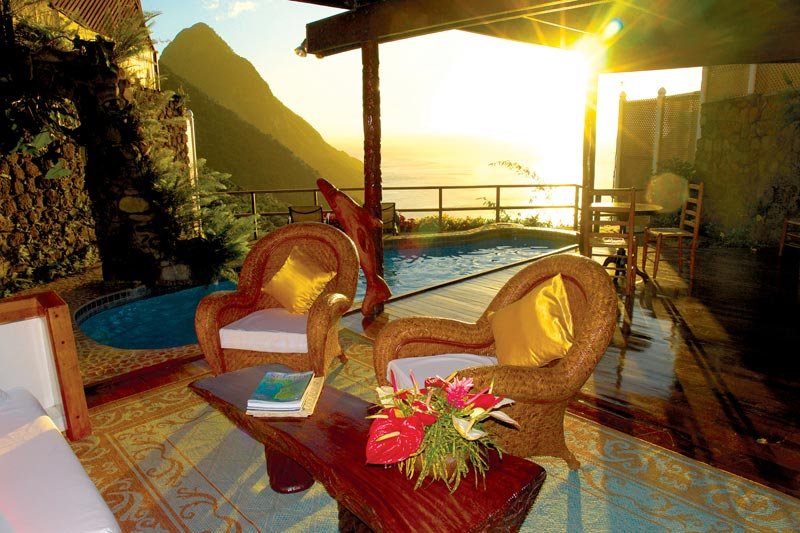 open wall resort st lucia ladera 3 The Open Wall Resort in St. Lucia [20 pics]