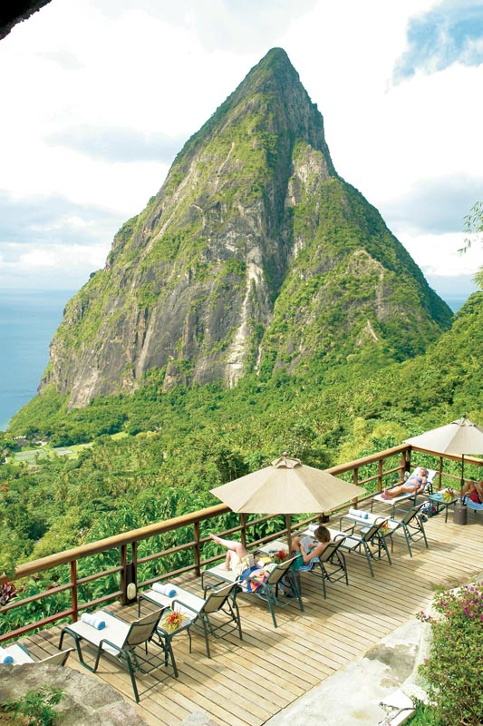 open wall resort st lucia ladera 4 The Open Wall Resort in St. Lucia [20 pics]
