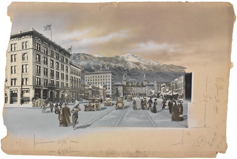 photo manipulation before digital age william henry jackson colorado springs 15 Photo Manipulations Before the Digital Age
