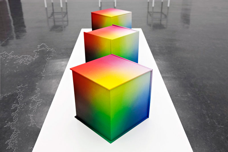 printed hardcover rgb color book tauba auerbach 1 Printed Book Attempts to Display Every RGB Color Combination
