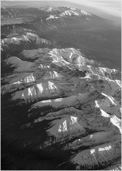 sangre de cristo range colorado North America from 30 000 ft Above