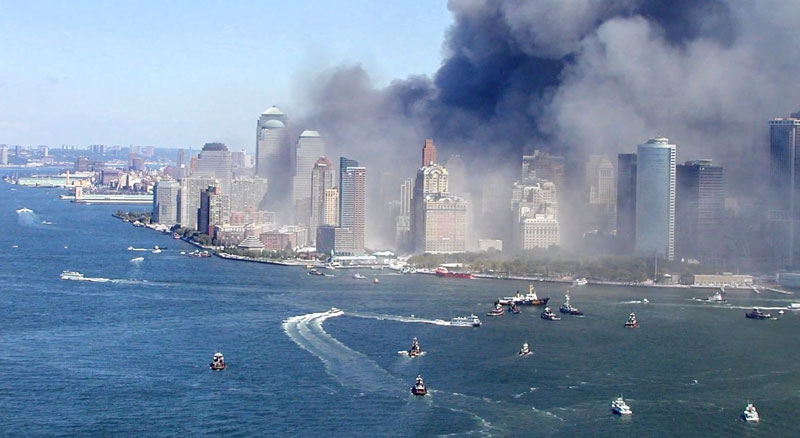 september 11 attacks boat evacuation 2 The Largest Sea Evacuation in History