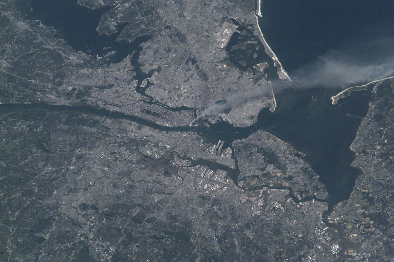 september 11 attacks from space The Top 75 Pictures of the Day for 2012