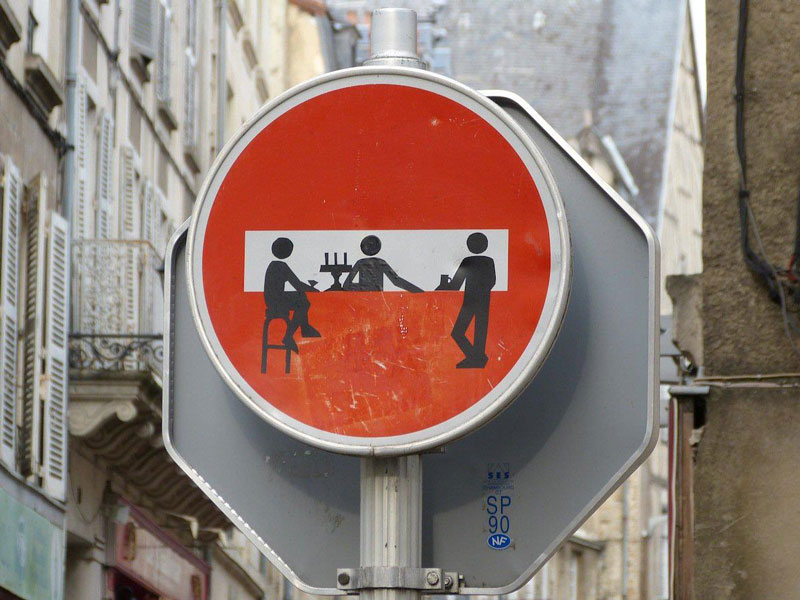 street bar sign street art Picture of the Day: The Street Bar