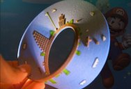 3D Printed Mobius Strip of the 1st Level of Super Mario Bros