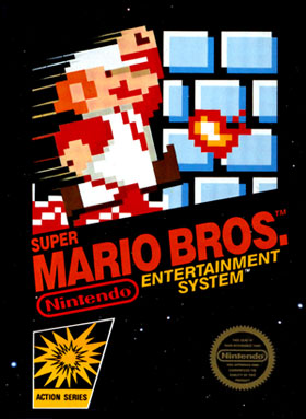 super mario bros 3D Printed Mobius Strip of the 1st Level of Super Mario Bros