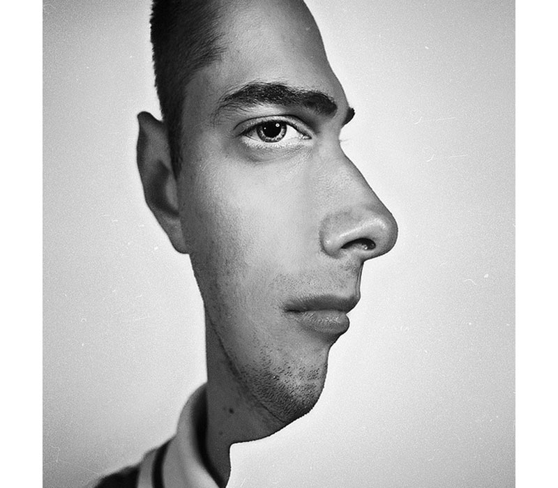 trippy profile pic portrait head on and from side angle The Top 75 Pictures of the Day for 2012