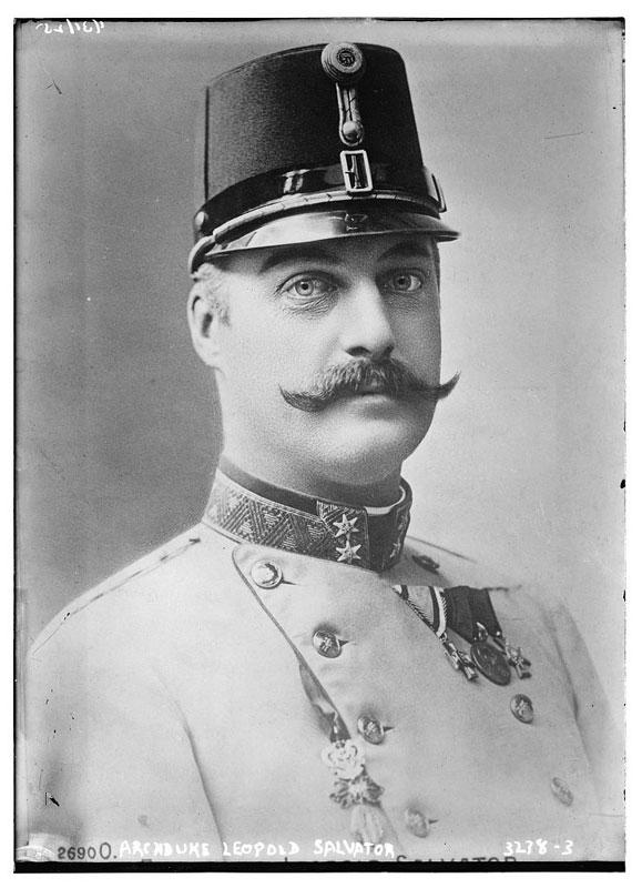 archduke leopold salvator vintage mustache 25 Vintage Mustaches