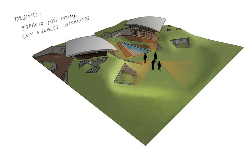 bauen architects hillside home built into landscape paraguay 4 A Unique Hillside Home Built Into the Landscape