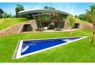 A Unique Hillside Home Built Into the Landscape