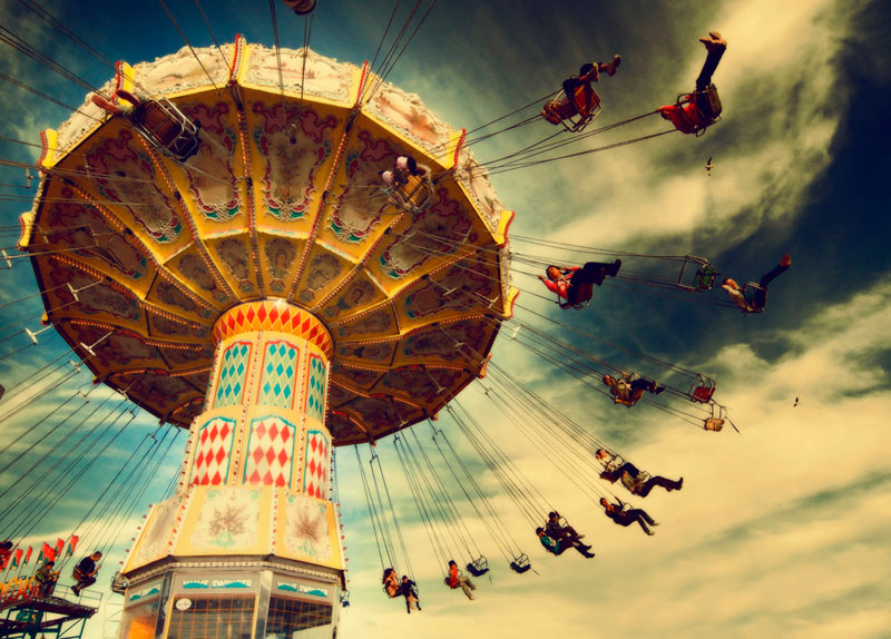 carousel with swings Picture of the Day: Life is Like a Carousel
