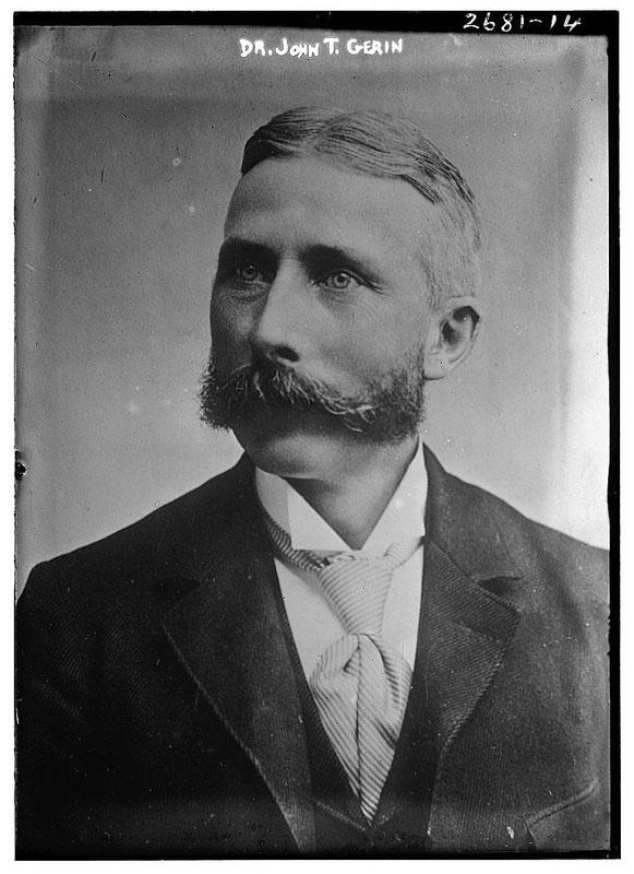 dr john t gerin vintage mustache 25 Vintage Mustaches