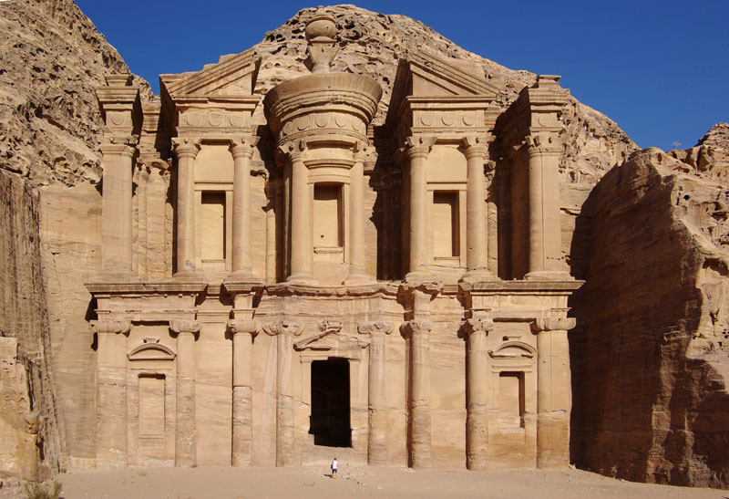 el deir the monastery petra jordan Picture of the Day: The Largest Monument in Petra