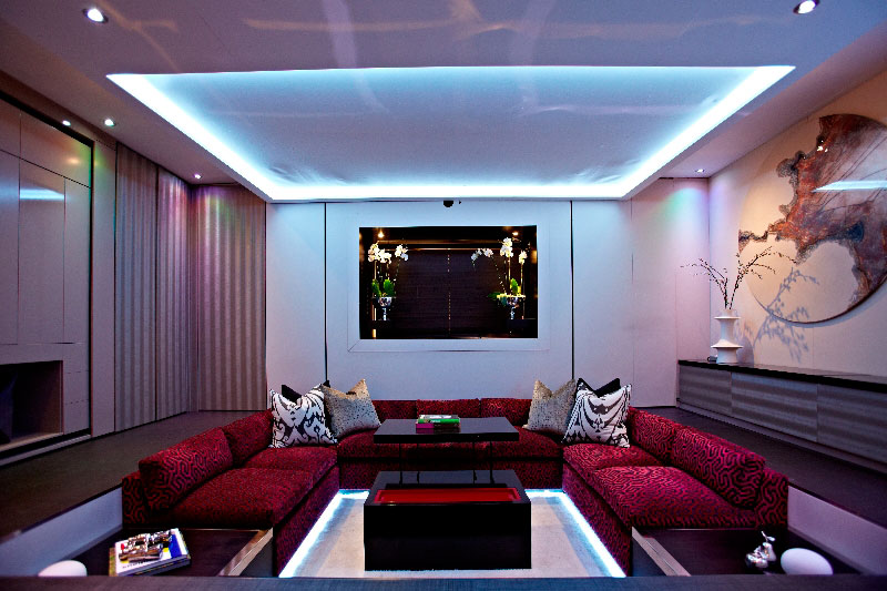 elevvator bed yo home simon woodroffe 3 Elevator Bed Rises to Reveal Sunken Living Room