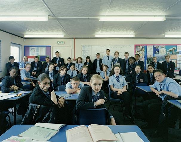 england erith year 10 english classroom portraits julian germain 18 Classroom Portraits Around the World