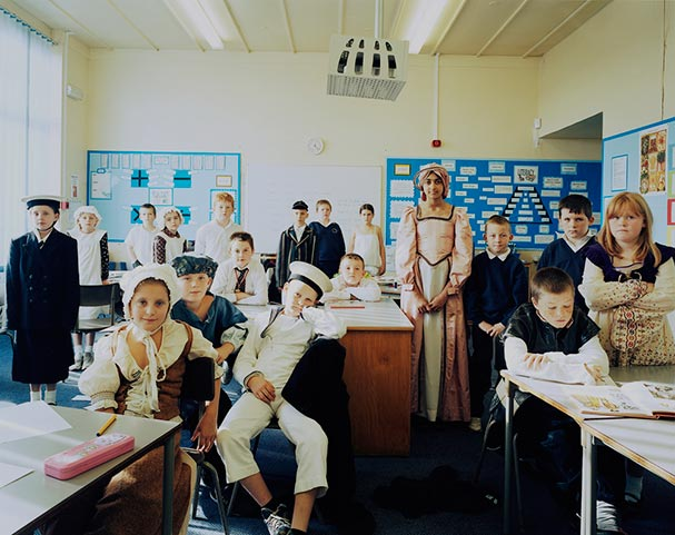 england keighley year 6 history classroom portraits julian germain 18 Classroom Portraits Around the World