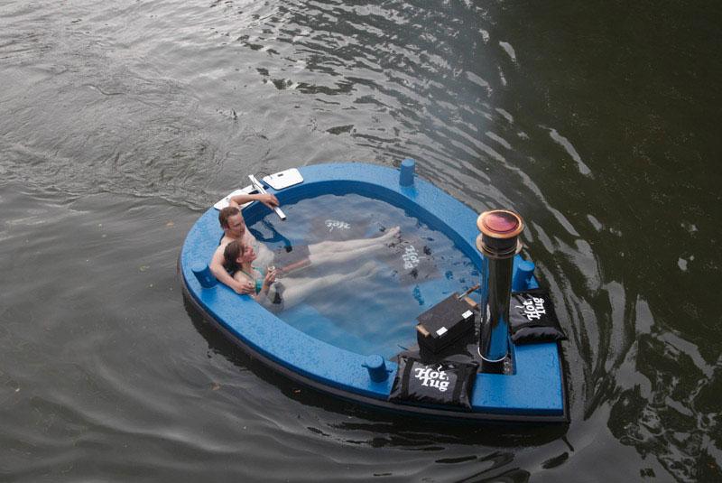 hot tub tug boat 10 Check Out This Hot Tub Tug Boat