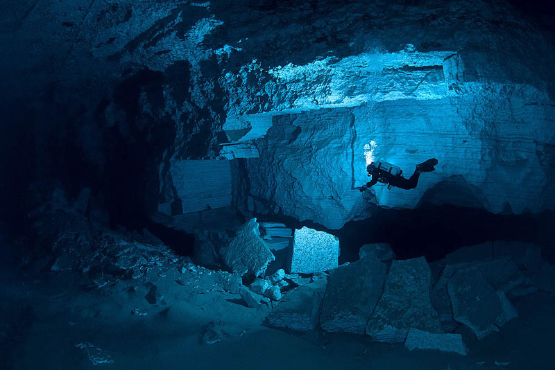 longest underwater cave in russia ordinskaya orda cave 5 Exploring the Longest Underwater Cave in Russia