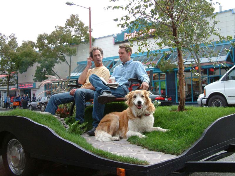 miniature park on a trailer suttonberesculler trailer park 9 Youve Never Seen a Trailer Park Like This [15 pics]