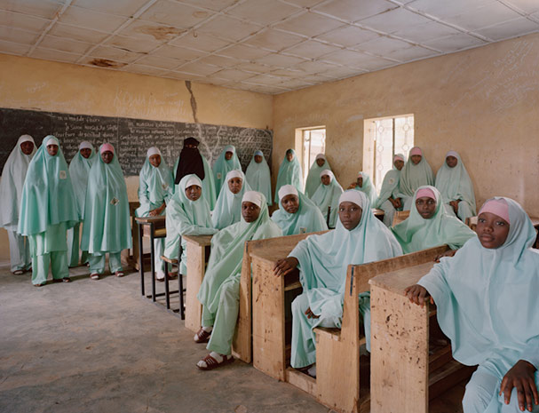 nigeria kano ooron dutse senior islamic secondary level 2 social studies classroom portraits julian germain 18 Classroom Portraits Around the World