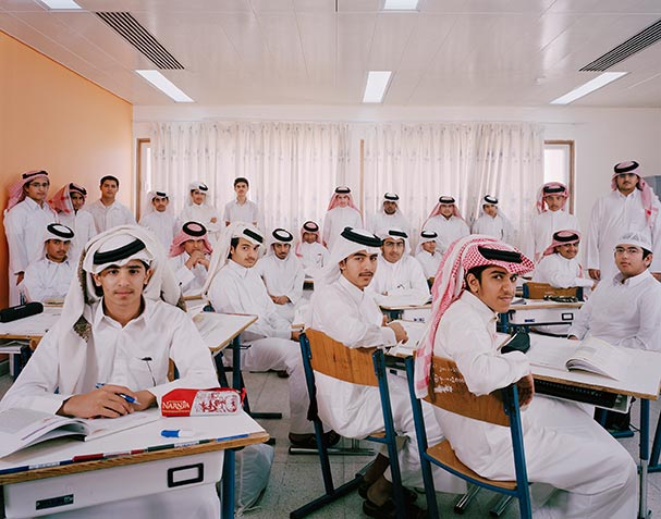 qatar grade 10 religion classroom portraits julian germain Portraits of Kids with their Favorite Toys