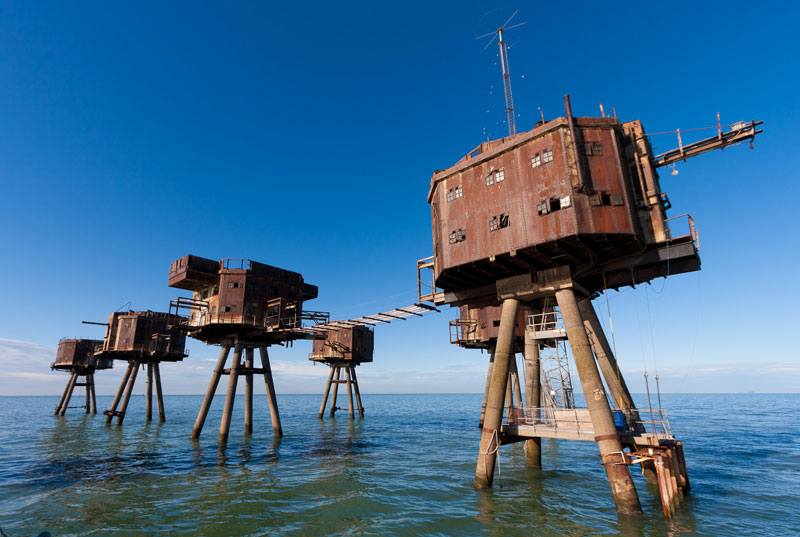 redsand maunsell sea forts The Maunsell Sea Forts of WWII