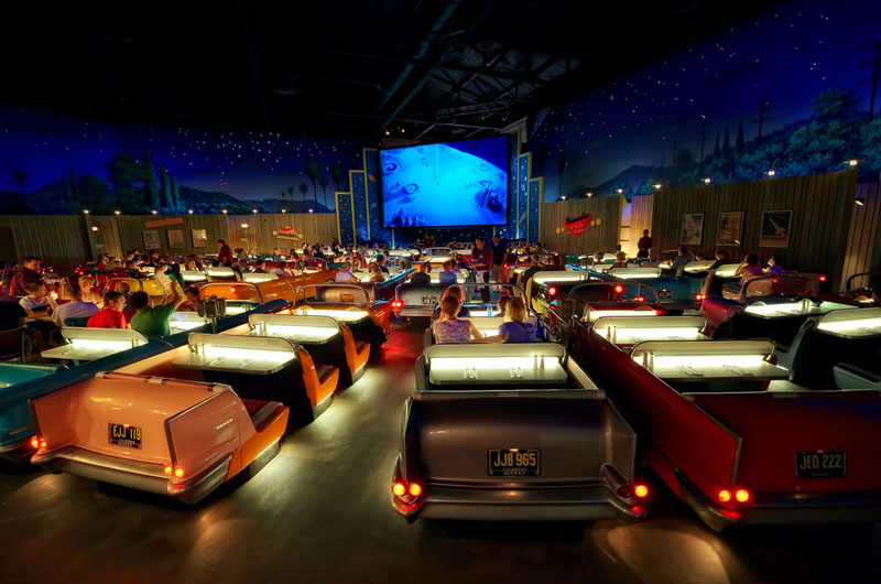 sci fi dine in theatre at disney world hollywood studios Picture of the Day: The Dine In Theater at Disney World