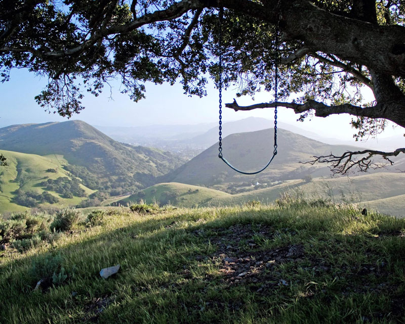 serenity swing poly canyon san luis obispo Picture of the Day: The Serenity Swing