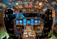 Picture of the Day: What a Space Shuttle Cockpit Looks Like