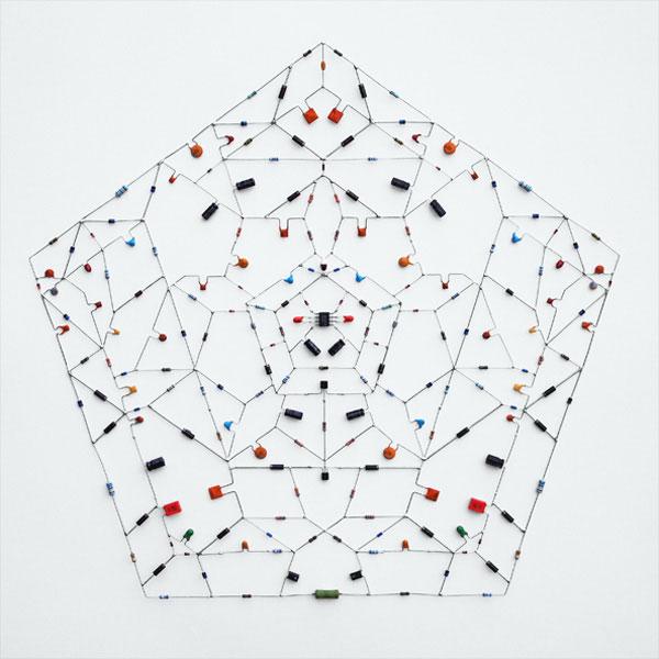 tech mandalas made from circuits leonardo ulian 21 Technological Mandalas Made From Circuitry