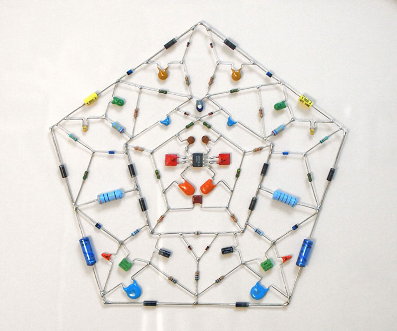 tech mandalas made from circuits leonardo ulian 4 Technological Mandalas Made From Circuitry