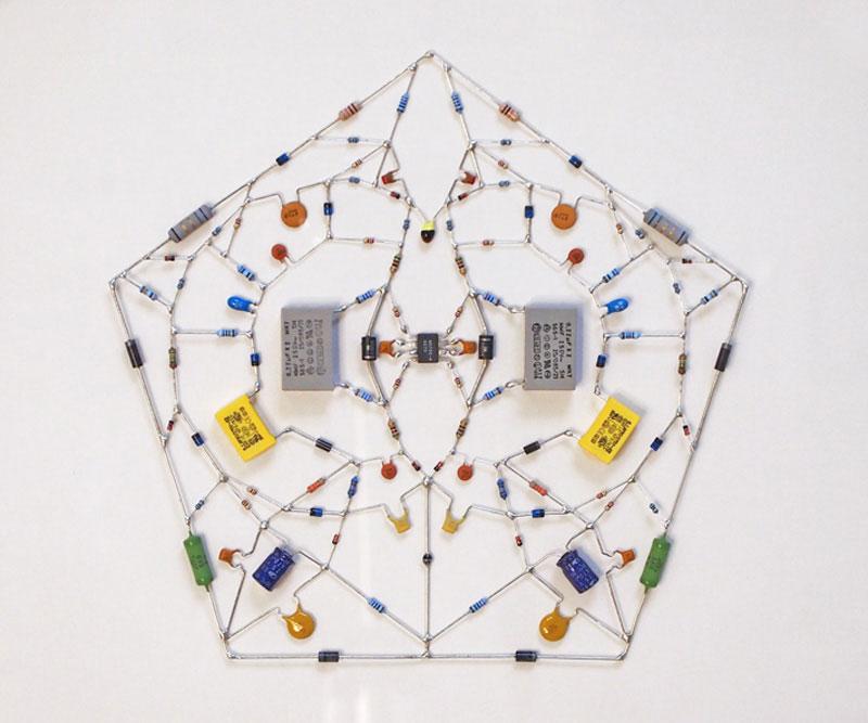 tech mandalas made from circuits leonardo ulian 51 Technological Mandalas Made From Circuitry
