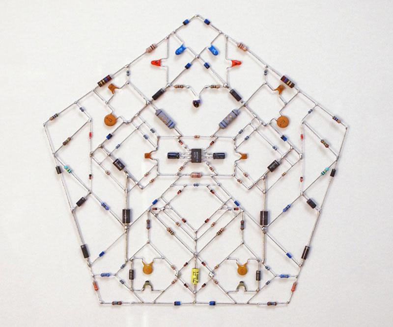 tech mandalas made from circuits leonardo ulian 61 Technological Mandalas Made From Circuitry