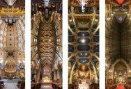 Amazing Vertical Panoramas of Church Ceilings