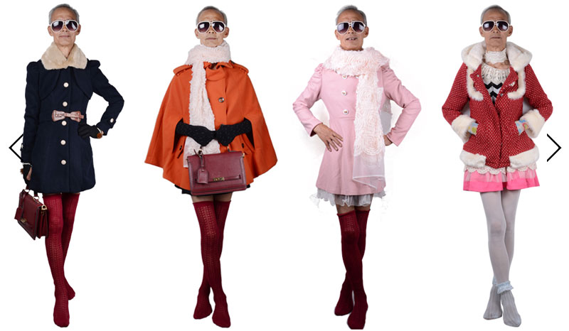 Awesome Grandpa Models for Granddaughters Clothing Line